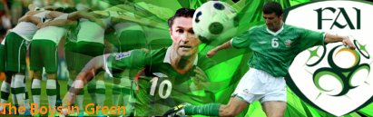 サッカーアイルランド代表 IRELAND Republic of Ireland national football team