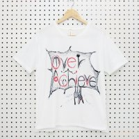 [Men's] yes!yes!非非 ペイント Tシャツ『Over Achieve』