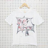 [Men's] yes!yes!非非 手書き Tシャツ『Over Achieve』サイズ:M