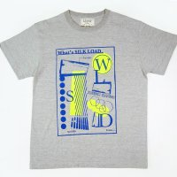 [Men's] ChillMountain Tシャツ 『What's SilkRoad』 グレー サイズ:M