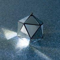 KALA ミラーボール Icosahedron φ65mm ブラック