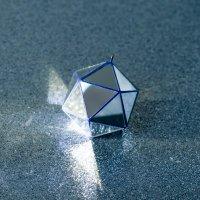 KALA ミラーボール Icosahedron φ55mm ブルー