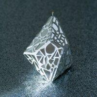 KALA ミラーボール Meteorite ホワイト
