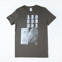 [Men's] HE?XION! Tシャツ グレー 「LESSON NO.1」 サイズ:M