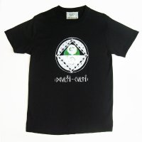 [Men's] ChillMountain Tシャツ 『multiculti』ブラック サイズ:L
