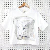 FREE LALA オーガニックコットンTシャツ iwa ホワイト