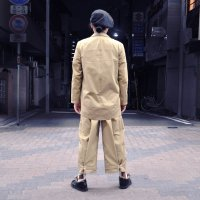 kitai Adjustment Belt Pants beige