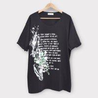 [Men's] DAIJIRO HAMA ビッグシルエット ペイントTシャツ ロング丈 サイズ:M