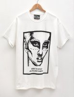 [Men's] HE?XION! Tシャツ『HERE TO STAY』ホワイト サイズ:L