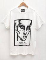 [Men's] HE?XION! Tシャツ『HERE TO STAY』ホワイト サイズ:M