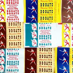 1950'sUSA/Taffyキャンディーラッパーセット【5枚】
