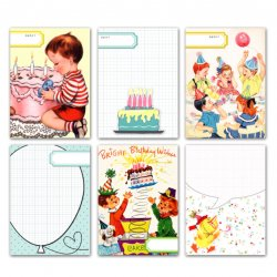 PrettyLittleStudio/ジャーナリングカード/BirthdayCake