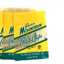 USA/1930'sポテトチップスの紙袋