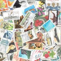 アメリカの使用済み切手20枚