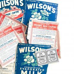 USA/1950'WilsonMilkクーポン