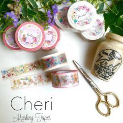 Cheriオリジナルマスキングテープ/Baby/Ephemera