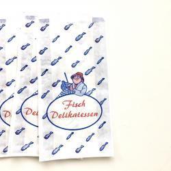 ドイツ/魚のデリカテッセンの紙袋
