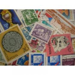 ハンガリーの使用済み切手20枚