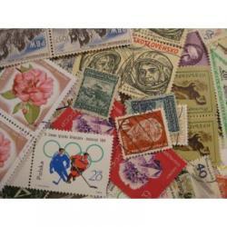 ヨーロッパの使用済み切手20枚