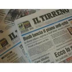 イタリア直輸入古新聞
