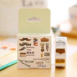 海外マスキングテープ/理髪店
