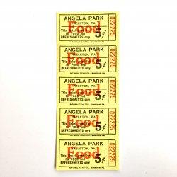 USAデッドストック/ANGELA PARKチケット