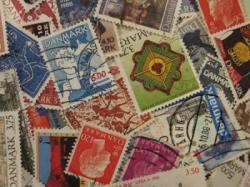 デンマークの使用済み切手20枚