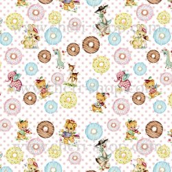 Cheriオリジナルラッピングペーパー【Doughnut】