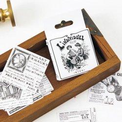 MO-CARD/フレークステッカー/Lindividuel