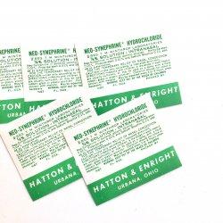 HATTON&ENRIGHT/USAヴィンテージファーマシーラベル【5枚】