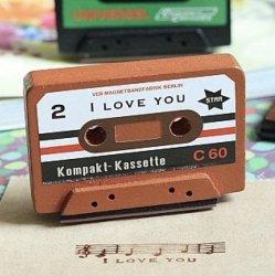 カセットテープスタンプ【1個】