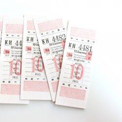 イギリスヴィンテージバスチケット【HIGHLAND】