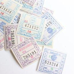 Thailand/ヴィンテージバスチケット