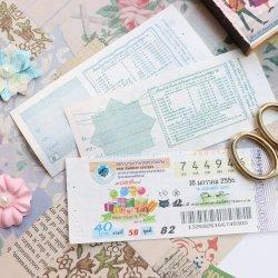 タイ/ヴィンテージ/LotteryTickets