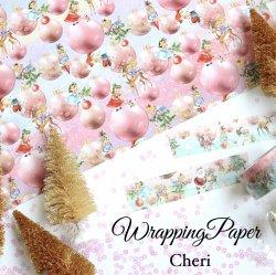 Cheriオリジナルラッピングペーパー【ChristmasParty】