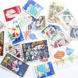 世界のクリスマス/使用済み切手10枚
