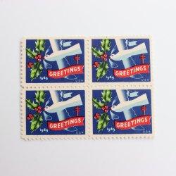 USAヴィンテージXmasシール【1949】