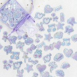 CANDYPOETRY/OrganzaBagSticker/Purple