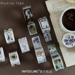 INFEELME/マスキングテープ/スタンプシリーズ