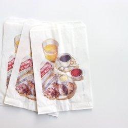 フランス/マルシェ袋【Breakfast】