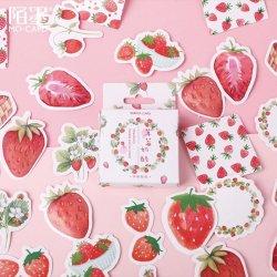 MO-CARD/フレークステッカー/Strawberry