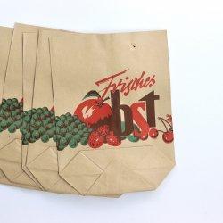 ドイツ/果物屋さんの袋【frischesObst】