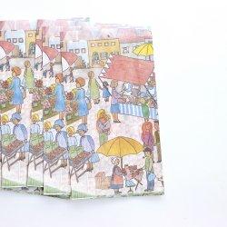 ドイツ/青空市場の紙袋