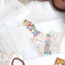 グラシン封筒12.5×8.2cm