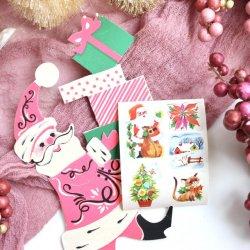 USA/デッドストッククリスマスシールセット【1シート】