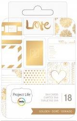 ProjectLife/GOLDEN/3x4ジャーナリングカード