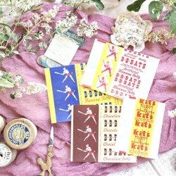 1950'sUSA/Taffyキャンディーラッパーセット【4種類】