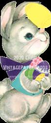 【ダウンロード販売】ヴィンテージグリーティングカード/10E6631