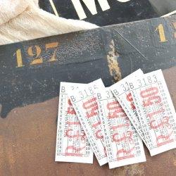 イギリスヴィンテージバスチケット【R£1.50】
