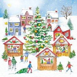 ドイツ/Ambiente/ペーパーナプキン/Christmas Market